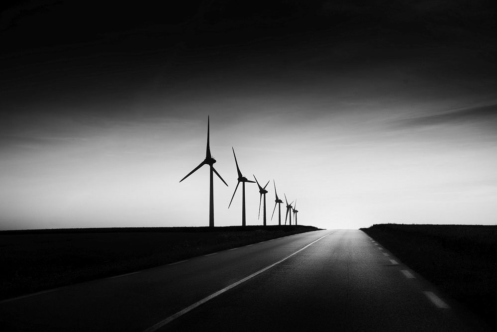 View this piece of fine art photography titled Road Trip by Despird Zhang