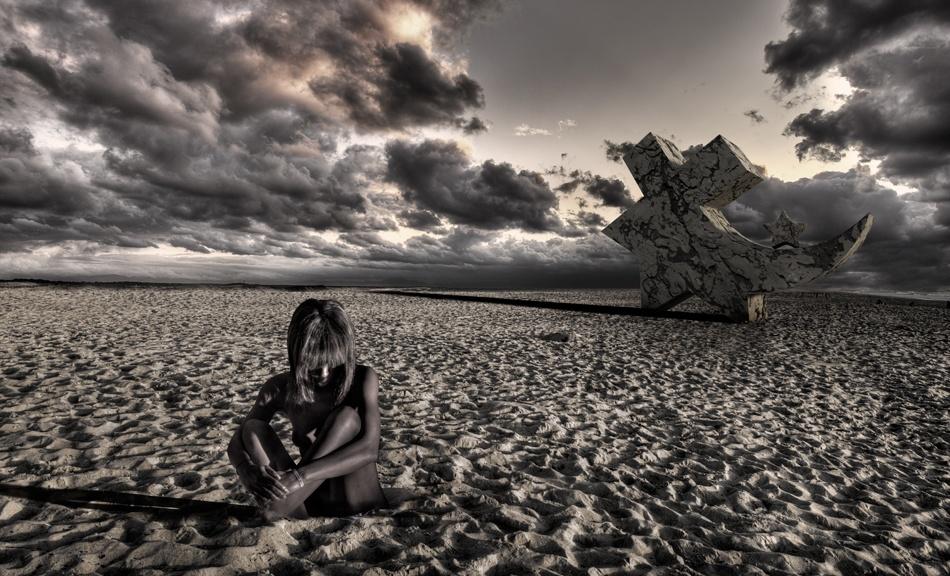 A piece of fine art art photography titled Loosin My Religion by Gilles Bonugli Kali
