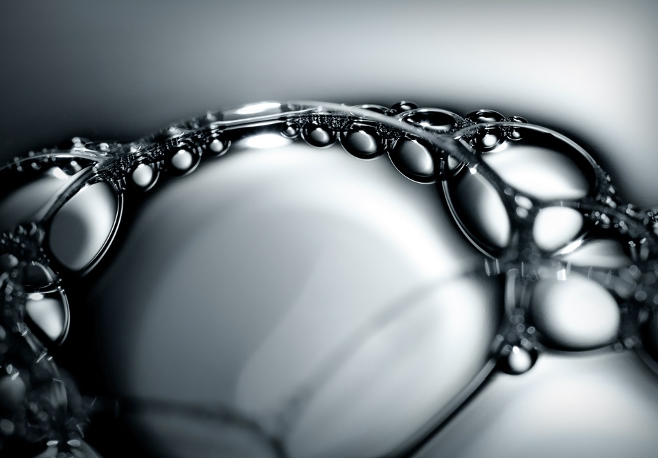 A piece of fine art art photography titled Bubble Study by Villi
