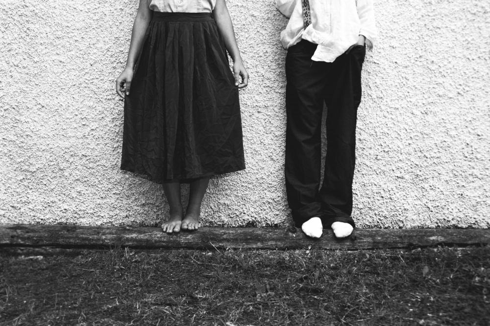 A piece of fine art art photography titled Sisters by Angelica Trinco (Angelica T Photography)