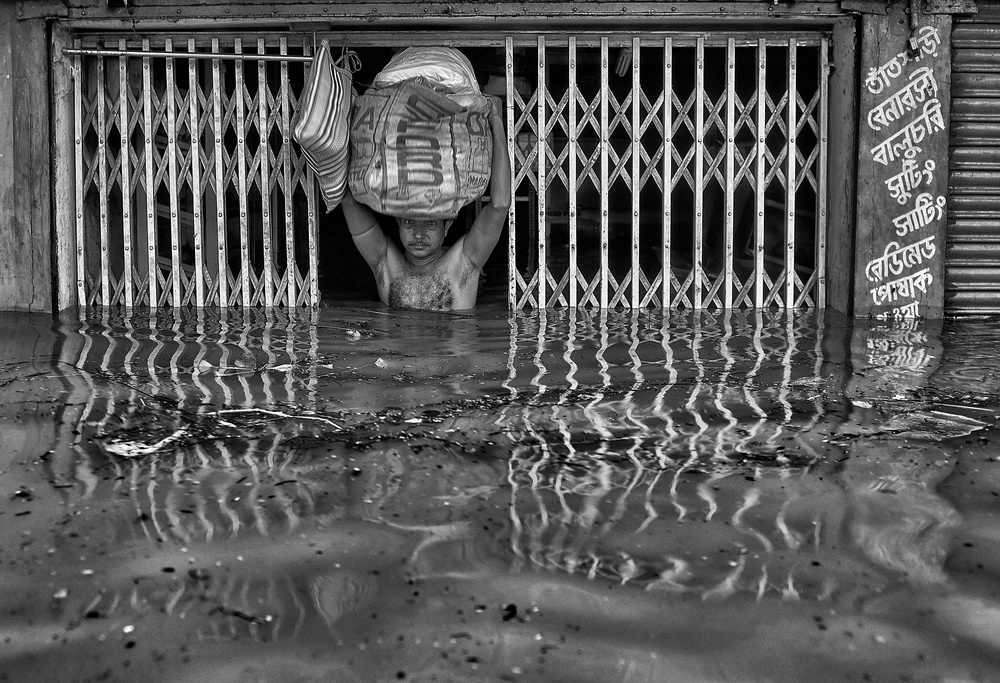 A piece of fine art art photography titled Struggle for Existance by Avishek Das