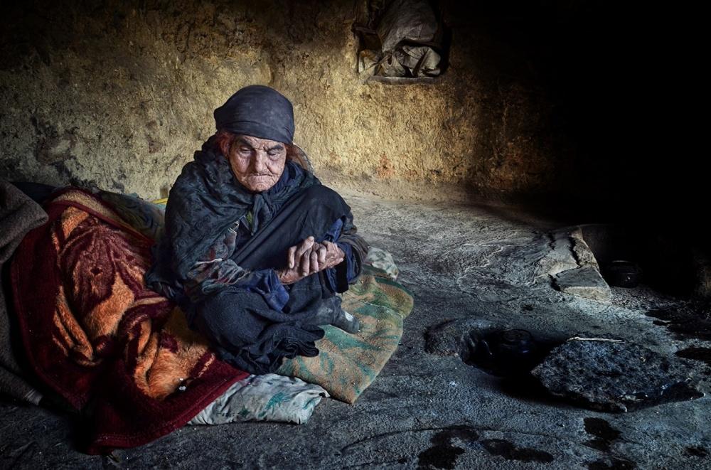 A piece of fine art art photography titled Mama Shirin by Mehdi Nazeri