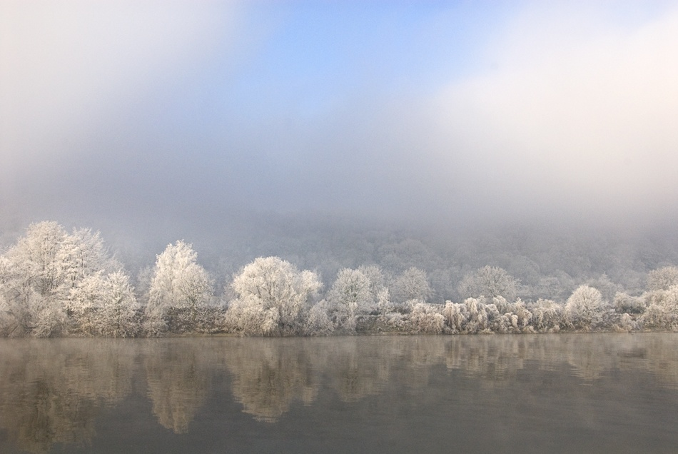 A piece of fine art art photography titled P 277 Frosty Morning by Fernand Hick
