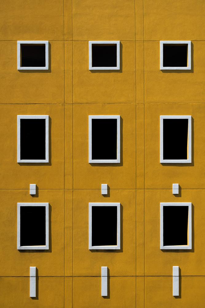 A piece of fine art art photography titled Windows by Rolf Endermann