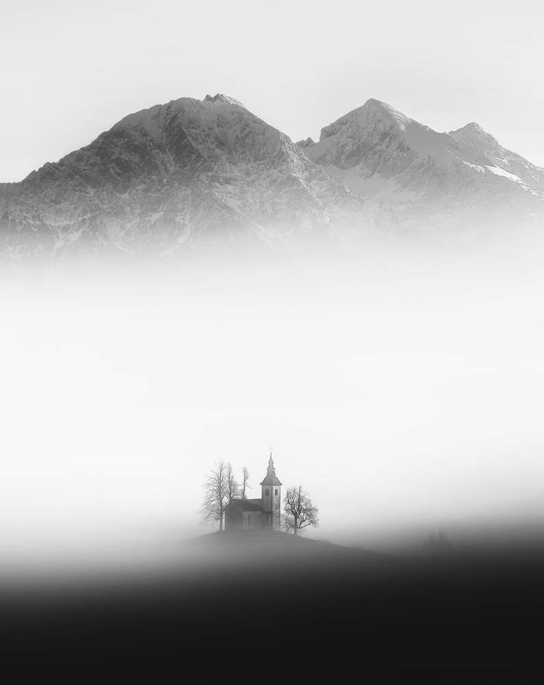 View this piece of fine art photography titled St. Thomas Church by Ales Krivec