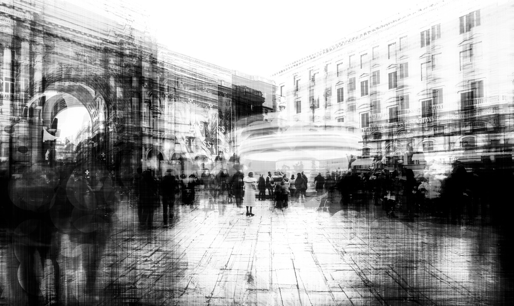 A piece of fine art art photography titled In Between Day (The Cure) by Carmine Chiriacò