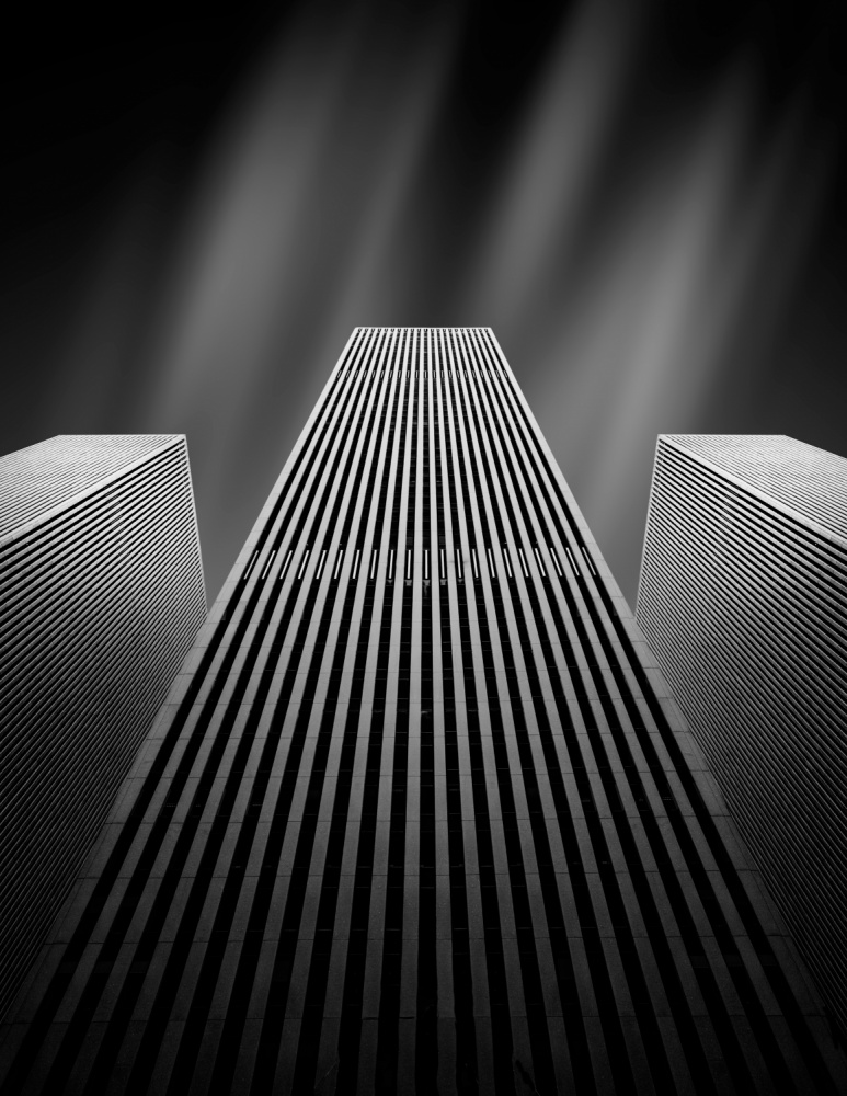 A piece of fine art art photography titled The W by Olivier Schwartz