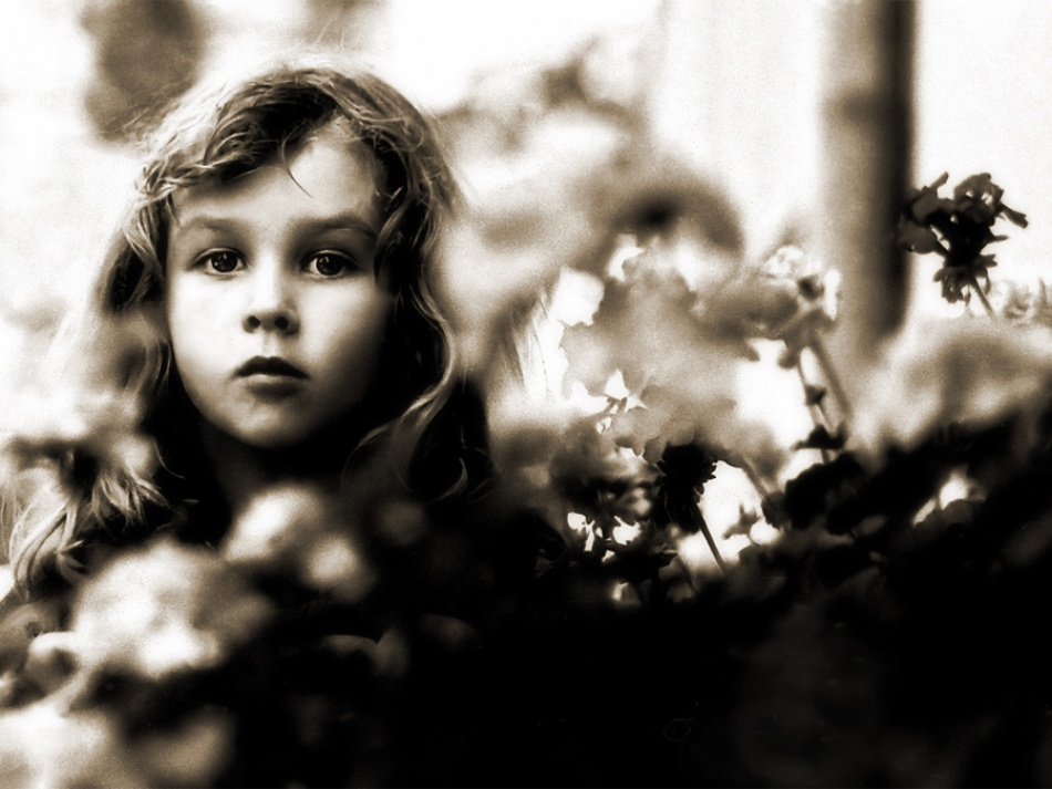 A piece of fine art art photography titled Flower Girl by Zdenko Petrovski