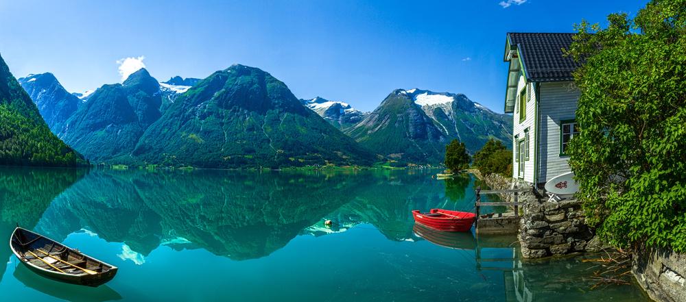 The Glacier Lake
