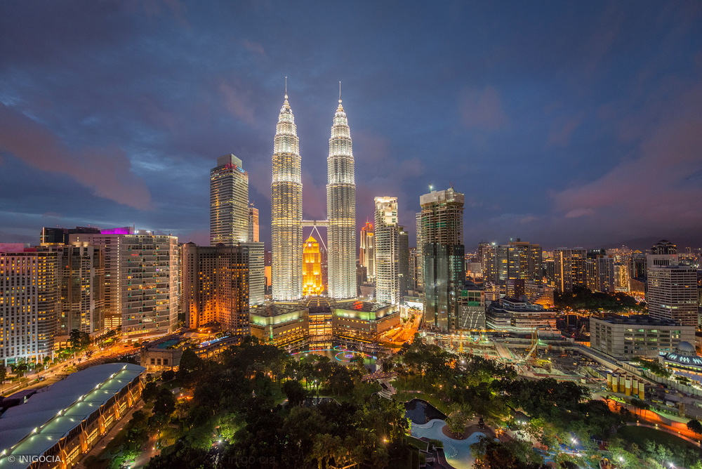 View this piece of fine art photography titled Kuala Lumpur by Luc Vangindertael (laGrange)