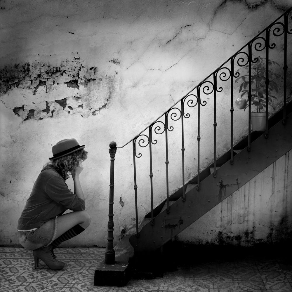 A piece of fine art art photography titled Absurdas Frustraciones by alejandra baci