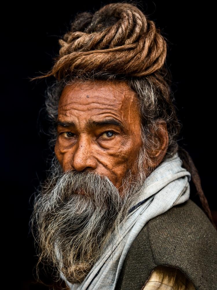 Portrait of a Sadhu...