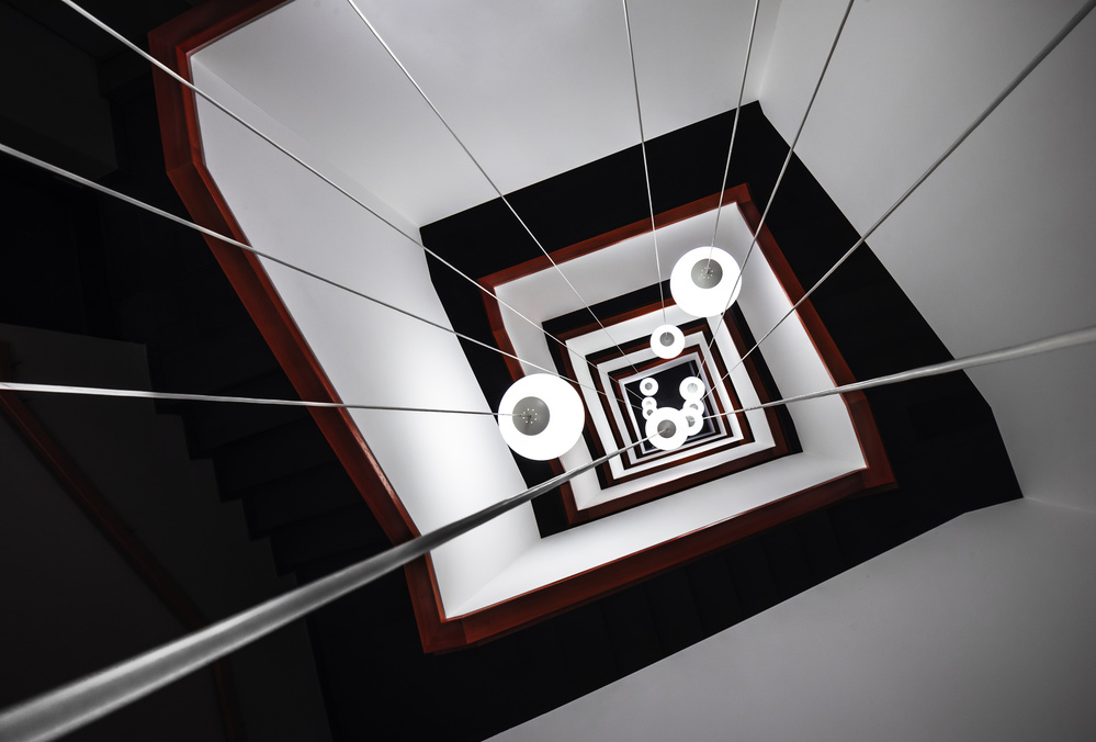 A piece of fine art art photography titled Angular In(n)side by mike kreiten