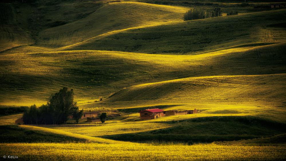 A piece of fine art art photography titled Homeland by Ke Liu