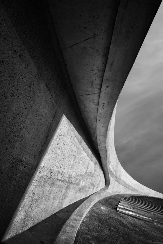 A piece of fine art art photography titled Heavy Concrete by Jeroen van de Wiel