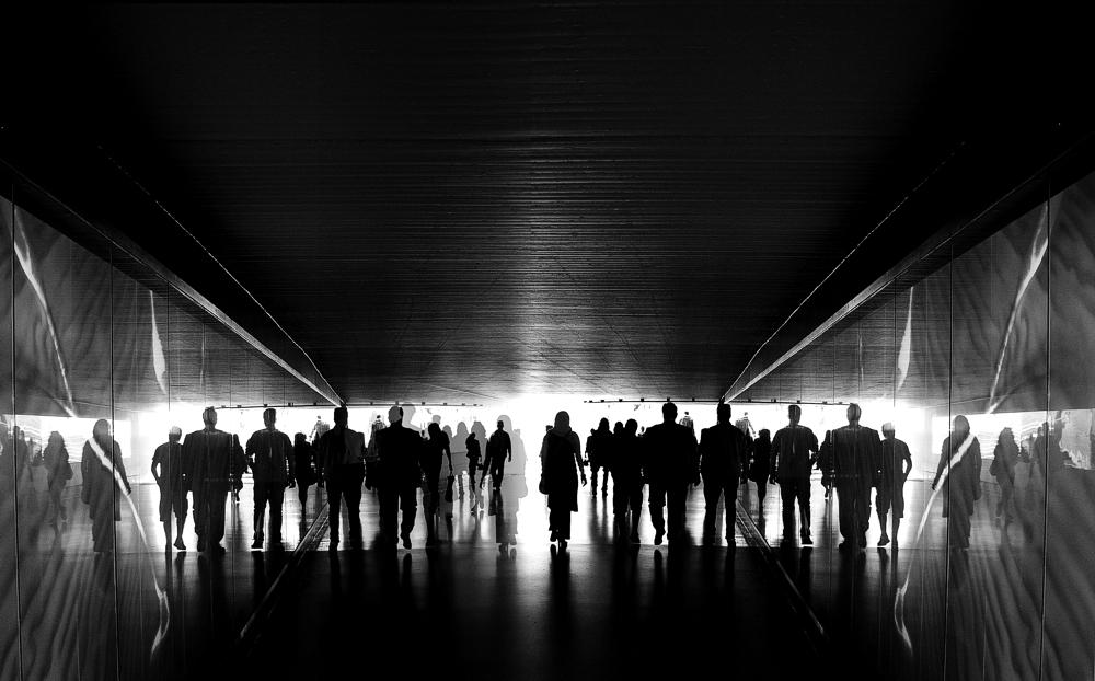 A piece of fine art art photography titled  In Darkness by Marek Patt