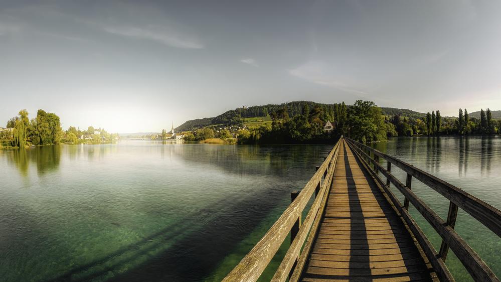 Insel Werd by Stein am Rhein
