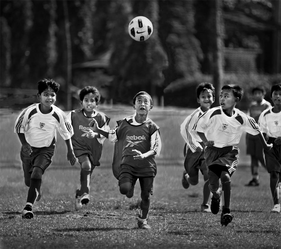 A piece of fine art art photography titled The Future National Team by Sebastian Kisworo