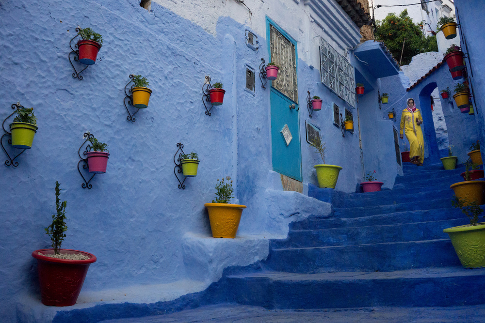A piece of fine art art photography titled Color In Morocco by Andrei Nicolas - The Traveler