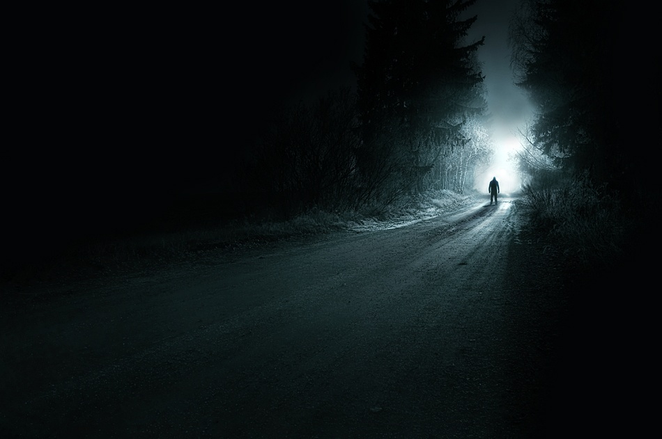 A piece of fine art art photography titled Stranger by Mikko Lagerstedt