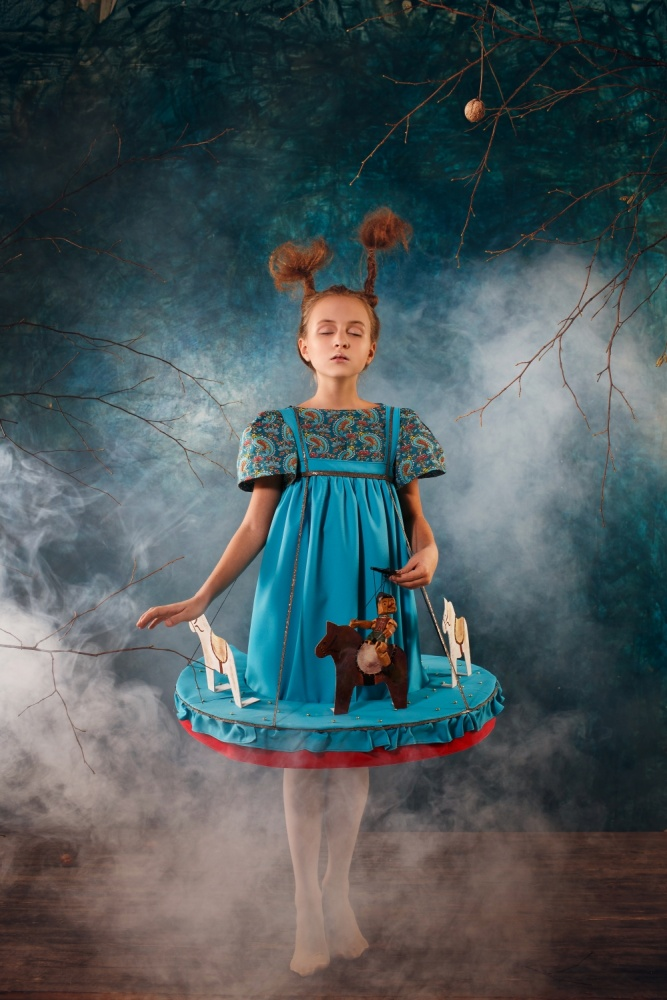 A piece of fine art art photography titled 	   Fairyland by Gulya Markelova