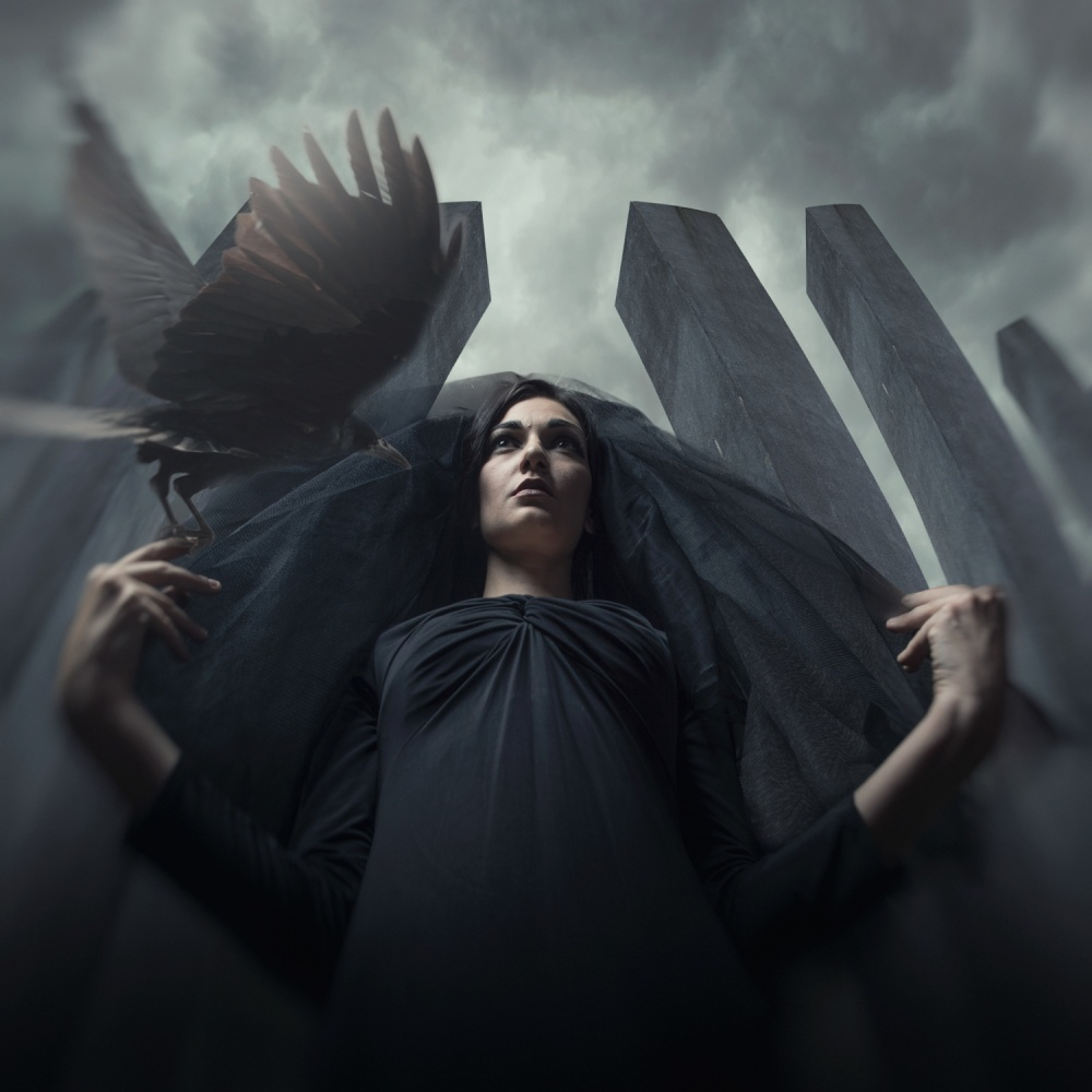 A piece of fine art art photography titled Rise of the Witch by hardibudi