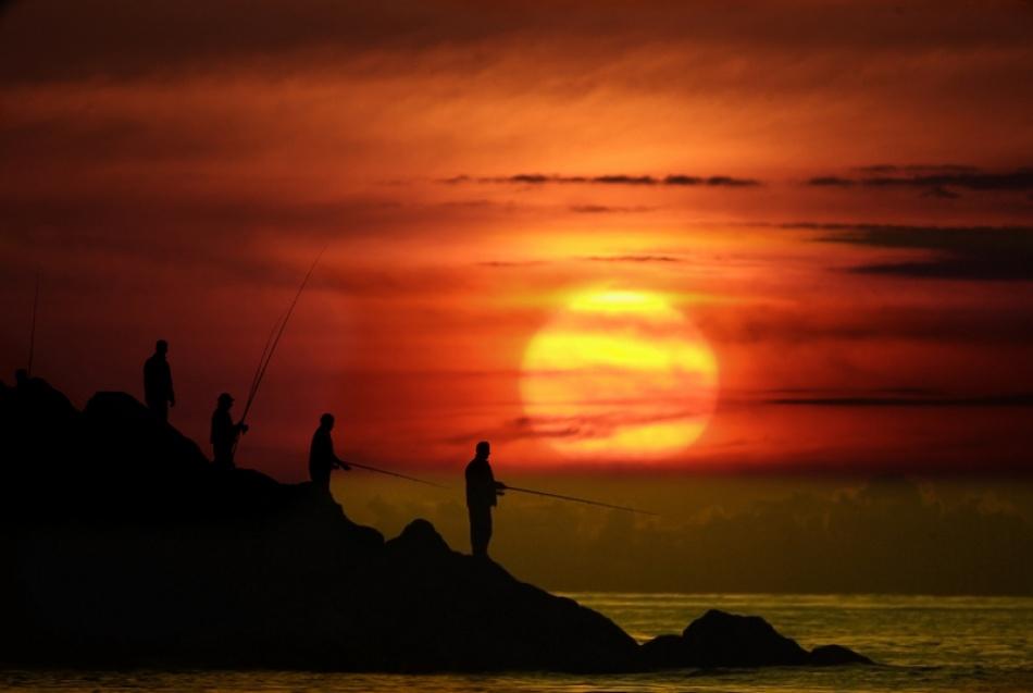 A piece of fine art art photography titled Sunset by kadriozcan
