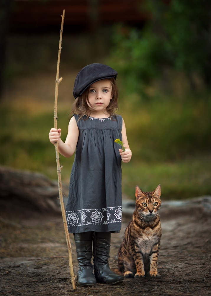 A piece of fine art art photography titled Goodbye Leo by Suzy Mead