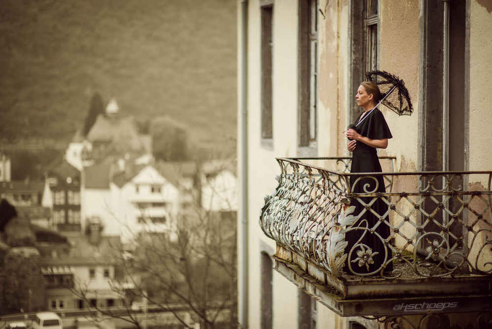 A piece of fine art art photography titled View by Axel K. Schoeps