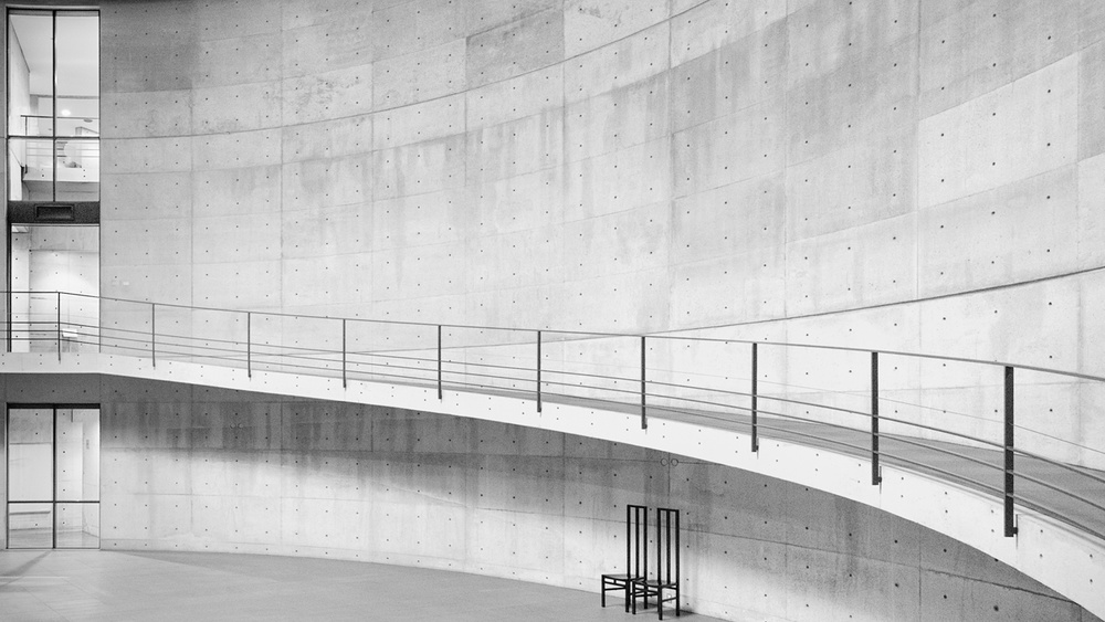A piece of fine art art photography titled Haute Concrete #3 by Frederick Lim Cung Wei