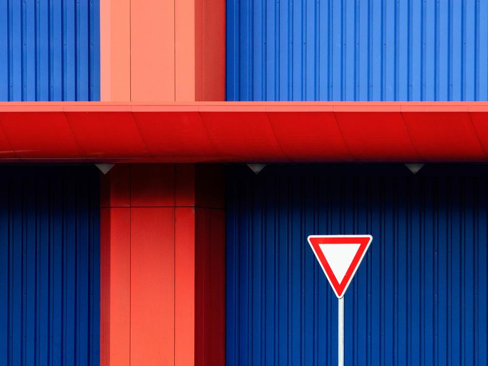 A piece of fine art art photography titled Crossroad by Karol Važan