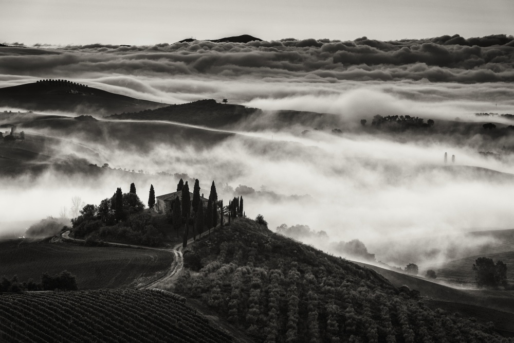 A piece of fine art art photography titled Tuscany by Nina Pauli