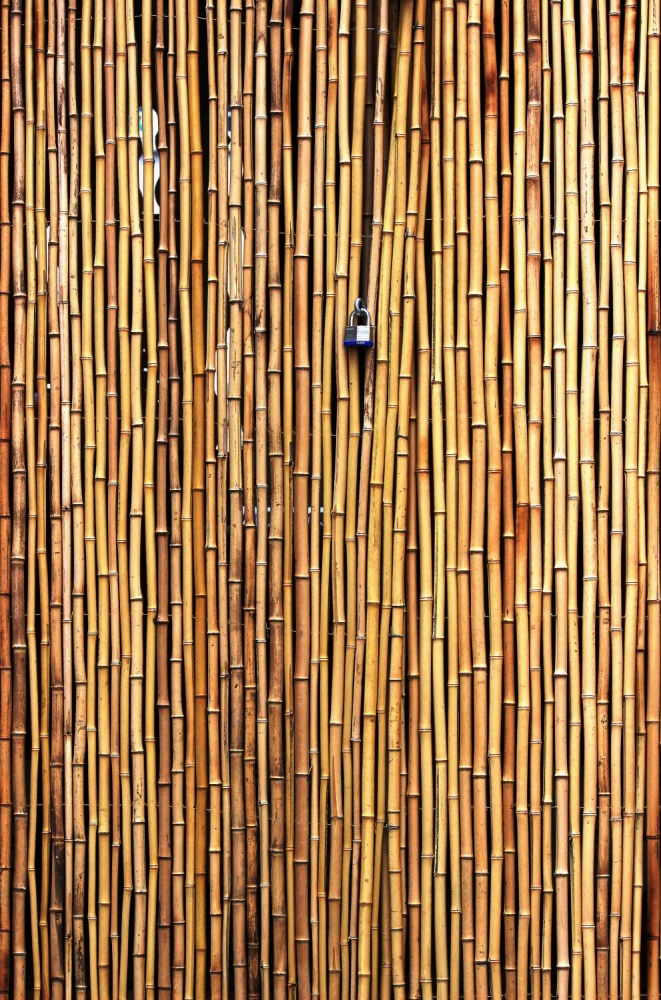 A piece of fine art art photography titled The Locked Door by Jian Wang