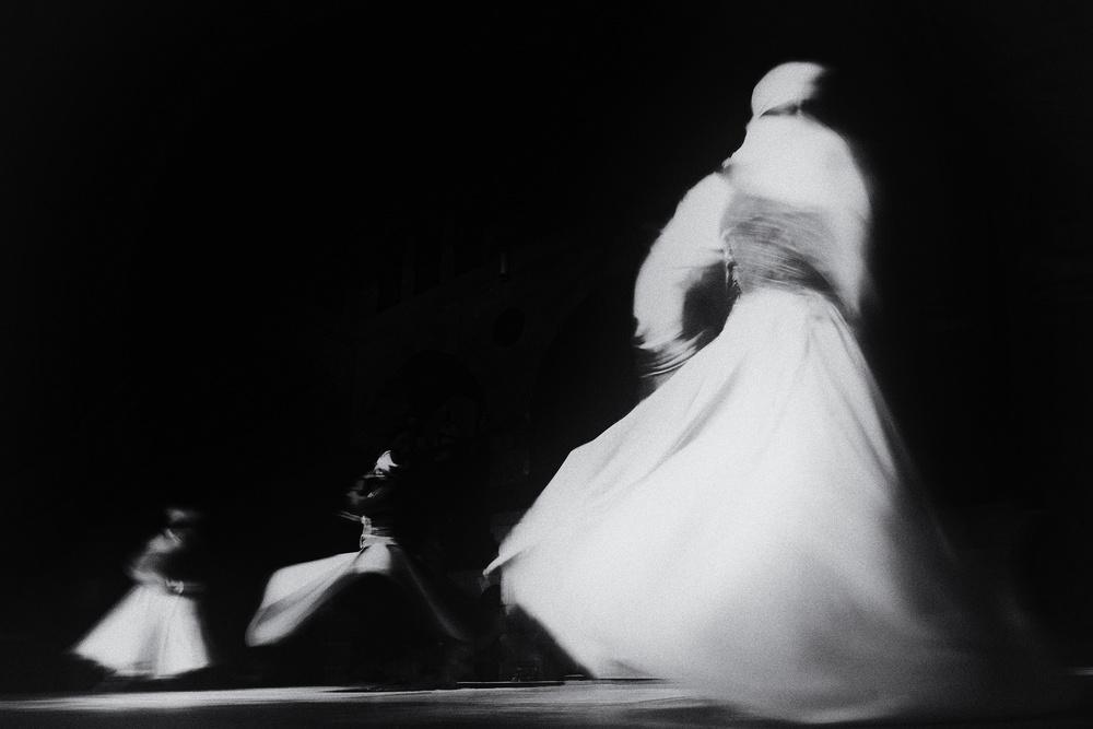 A piece of fine art art photography titled Dervish Splendors by Ahmed Abdulazim