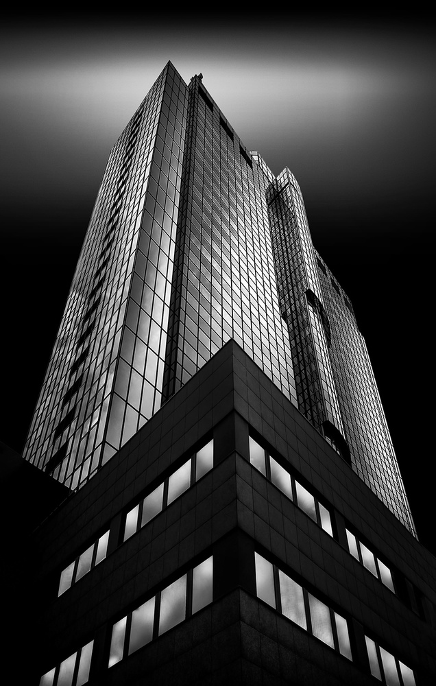 A piece of fine art art photography titled BCN-Tower by Wolfgang Mothes
