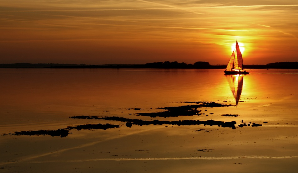 A piece of fine art art photography titled The Perfect Evening by Niels Christian Wulff