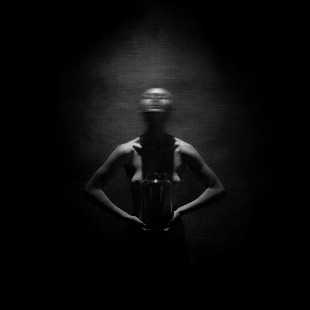 A piece of fine art art photography titled Emptiness by Yaroslav Vasiliev-Apostol