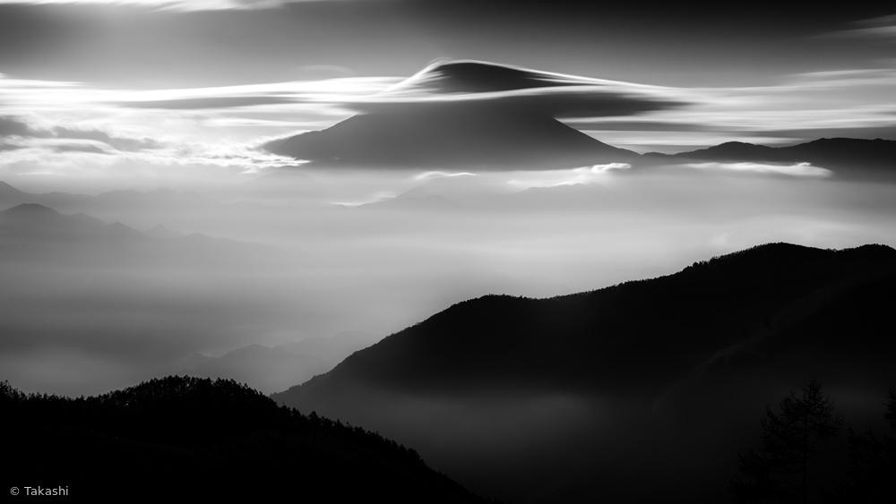 Silkyscape of Mount Fuji