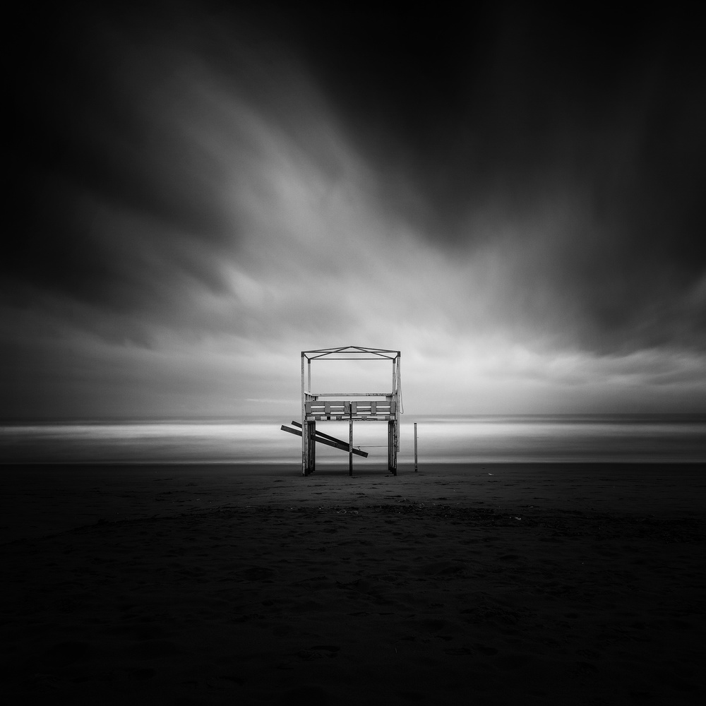 A piece of fine art art photography titled Il Gazebo by Massimo Della Latta