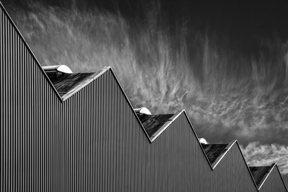 A piece of fine art art photography titled Zig Zag Down by Luc Vangindertael (laGrange)