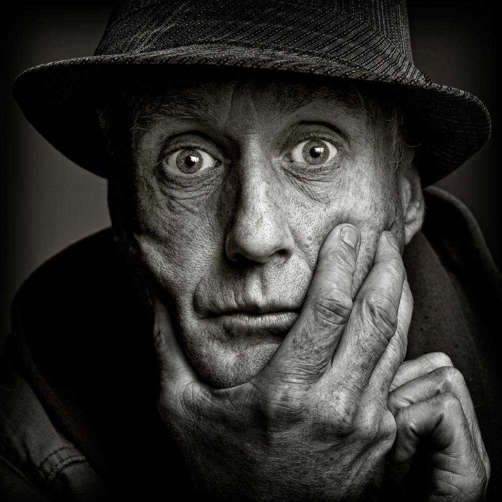 A piece of fine art art photography titled Stephen by Ross Oscar