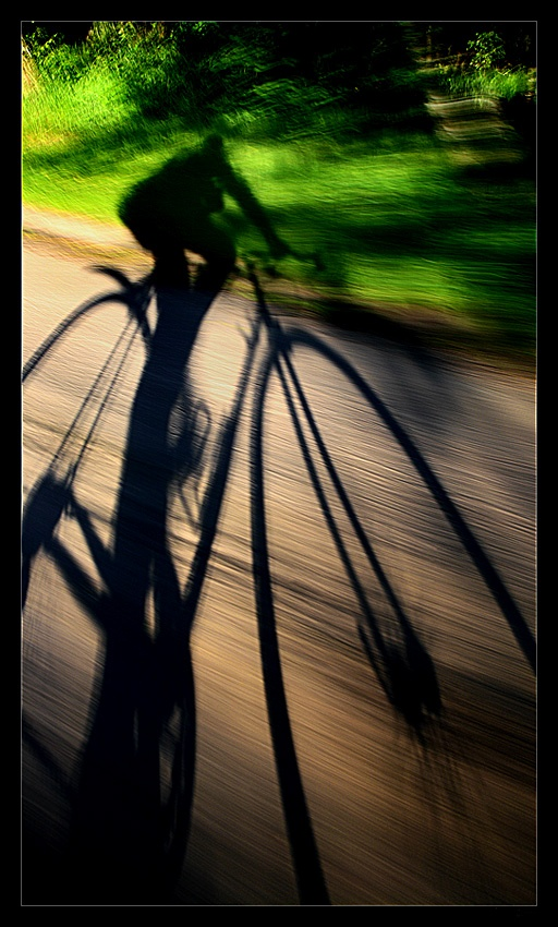 A piece of fine art art photography titled Shadow Speed #4 by kan_gory