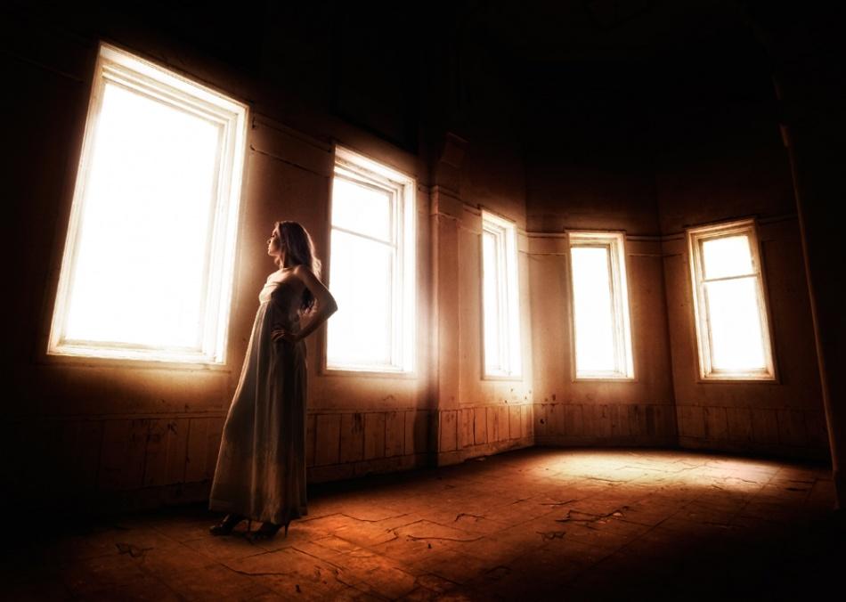A piece of fine art art photography titled Emptiness by Rolan A. Diapari