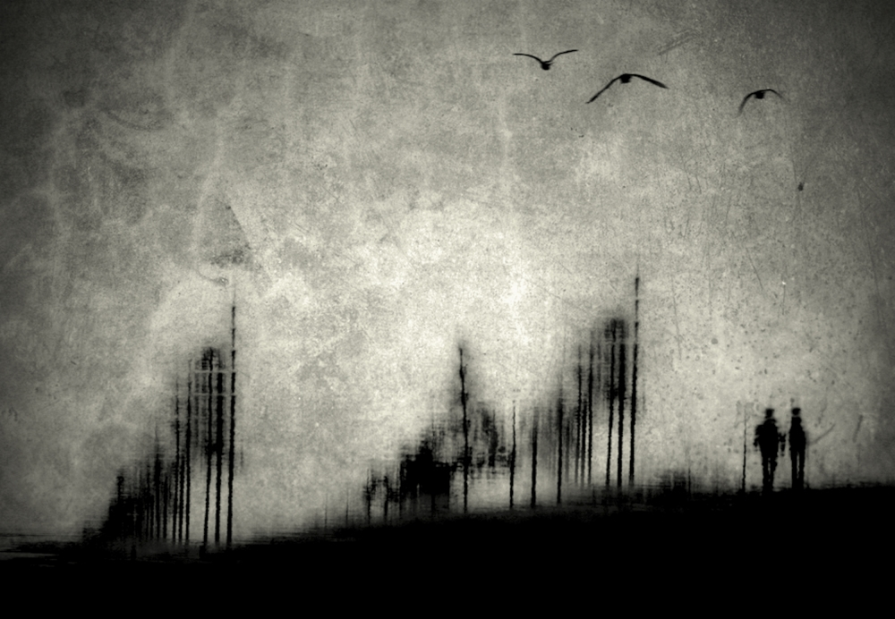 A piece of fine art art photography titled The Silence of the Winds by Anja Buehrer