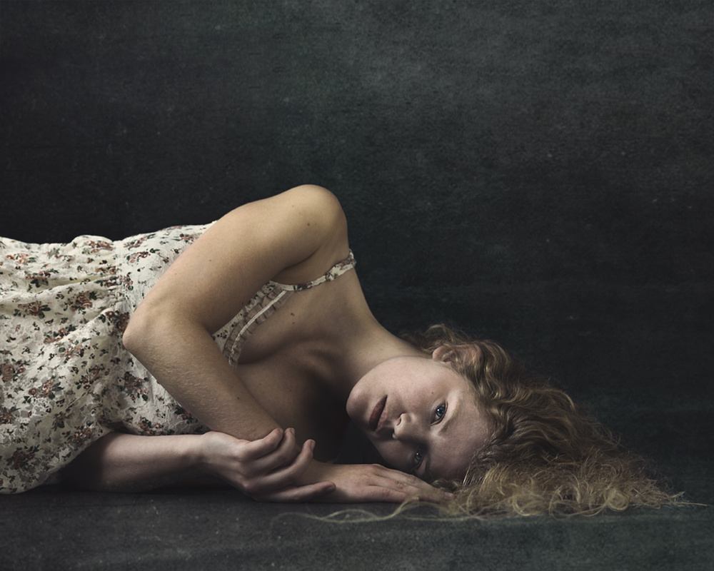 A piece of fine art art photography titled Dreaming  by Mariëtte Aernoudts