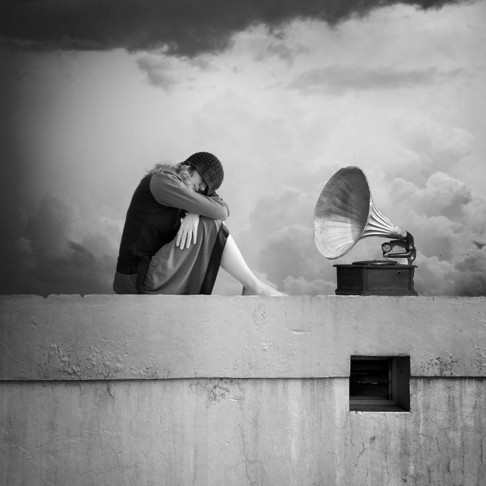 A piece of fine art art photography titled Listen by alejandra baci
