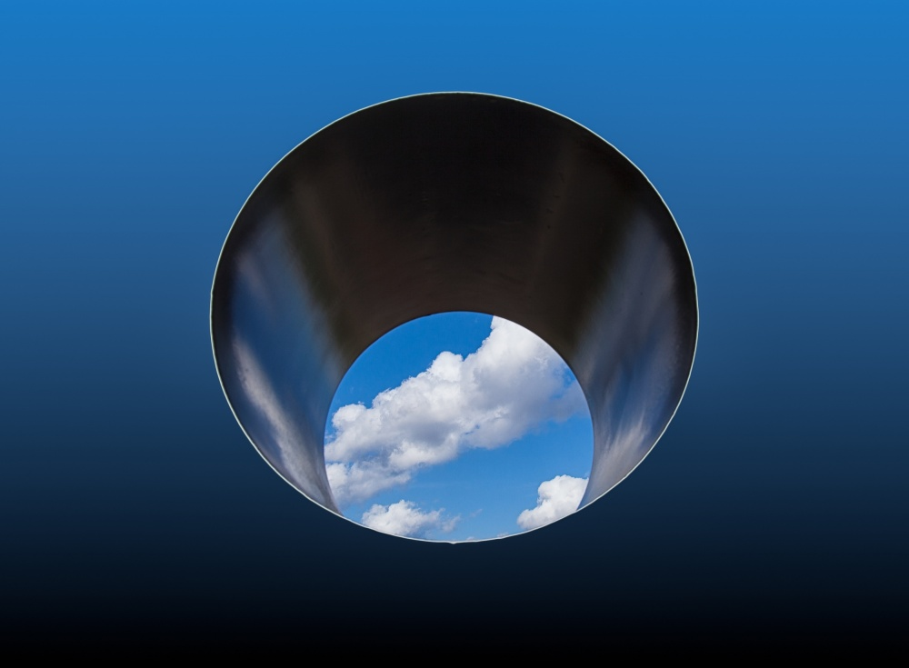 A piece of fine art art photography titled Tunnel Vision by Harry Verschelden