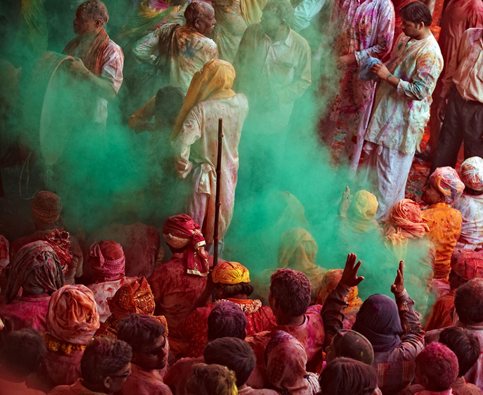 A piece of fine art art photography titled Holi by Prateek Dubey