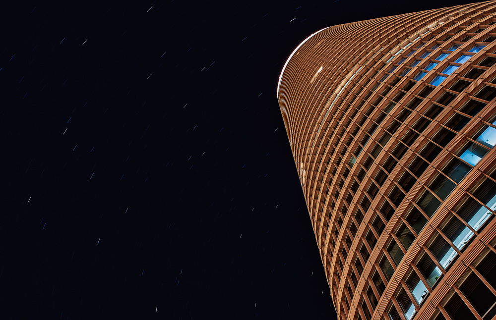 tower and stars