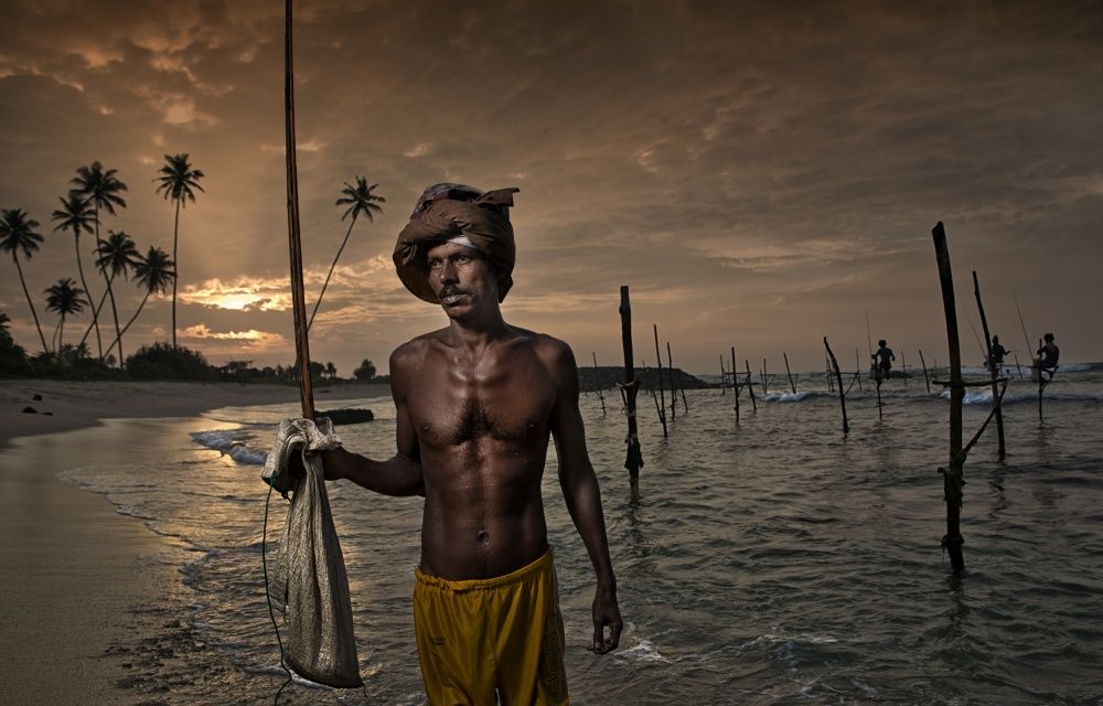 A piece of fine art art photography titled Disappearing Traditions by spencer montero